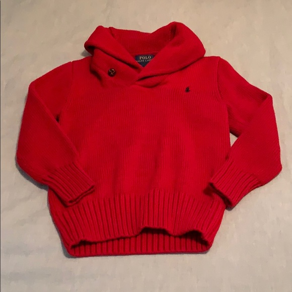 4deb1dcdb Boys Polo by Ralph Lauren Shawl Collar Sweater